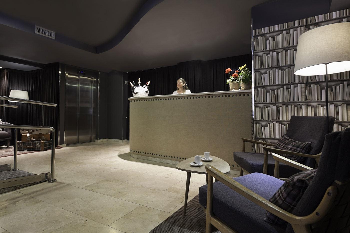 Hotel BCN 40   Recepción