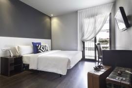Hotel BCN 40 | Habitación Doble matrimonial con balcón