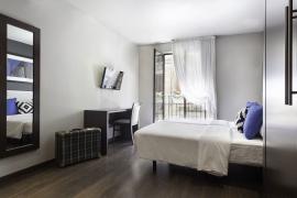 Hotel BCN 40 | Habitación Doble Twin con balcón