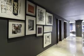 (Español) Hotel BCN 40 | Pasillo
